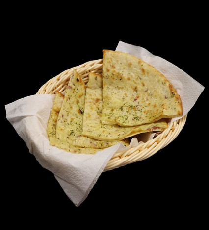 Cheese and Onion Naan ($4.99)